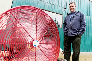 Firefighter's fan